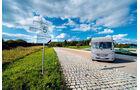 300 Runden Rüttelstrecke entsprechen der Beanspruchung von 300 000 km öffentlicher Straße.