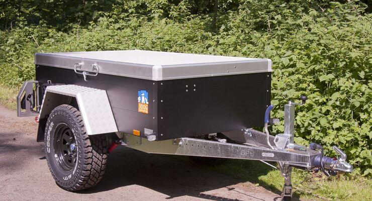 3Dog Camping hat das Zubehör für seinen geländegängigen Zeltanhänger Offroader mit zwei alternativen Abdeckungen erweitert.
