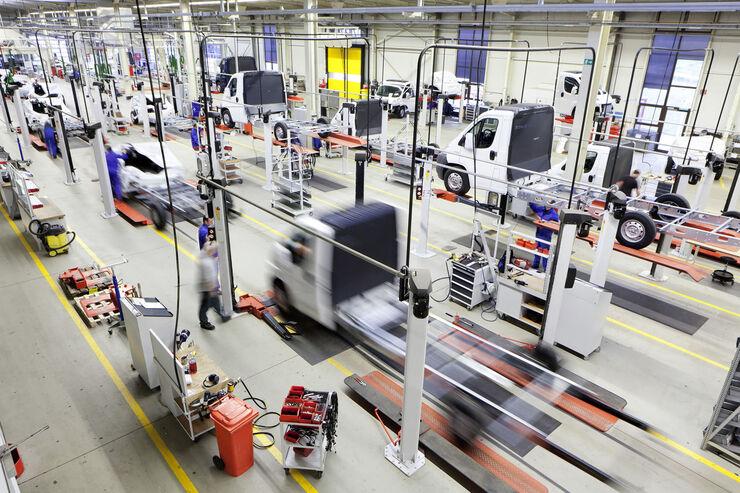 Alko-Werk in Ettenbeuren Produktionshalle