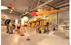 """Alle Flugzeugtypen, sowohl zivile als auch militärische, zeigt ansprechend aufbereitet das """"Norsk Luftfartsmuseum"""" in Bodø."""