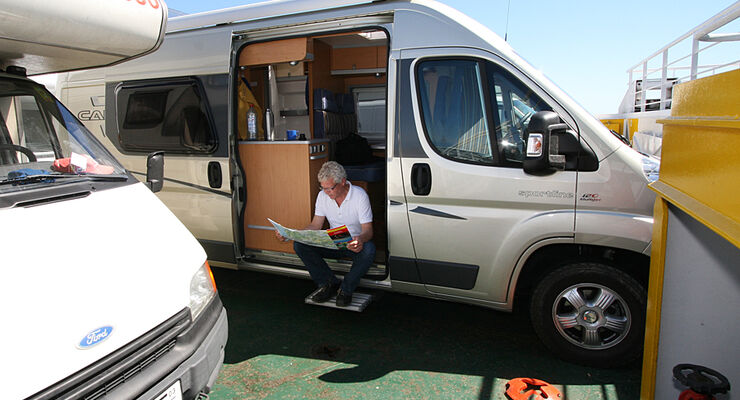 Auch im Sommer 2011 bietet Moby Lines wieder Camping an Bord nach Sardinien an