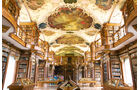 Barocksaal in Stiftsbibliothek in St. Gallen