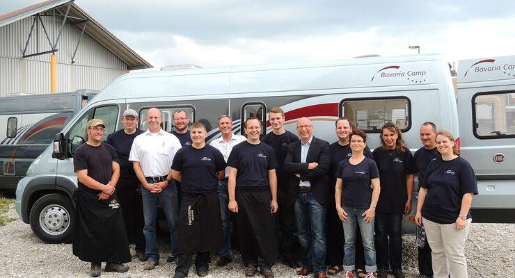 Bavariacamp stellte kürzlich beim Kundentreffen in Obermeitingen das Modell Vanverto aus der neuen Primeur-Baureihe vor.