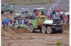 Beim 10. OTA-Globetrotter Rodeo trafen sich über 700 Fans des Offroad Campings mit ihren Fahrzeugen.