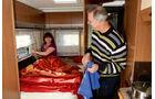 Bürstner Aero Van t 700 Bett