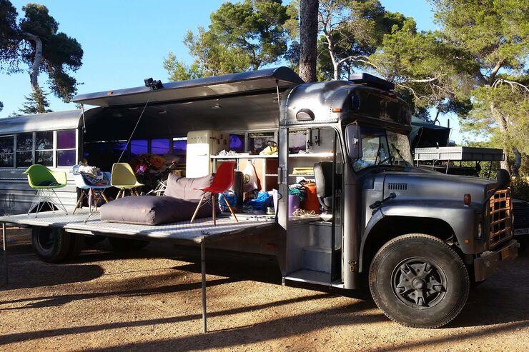 airbnb die ungew hnlichsten wohnmobile zur miete promobil. Black Bedroom Furniture Sets. Home Design Ideas