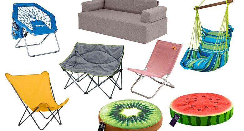 Camping-Sitzgelegenheiten