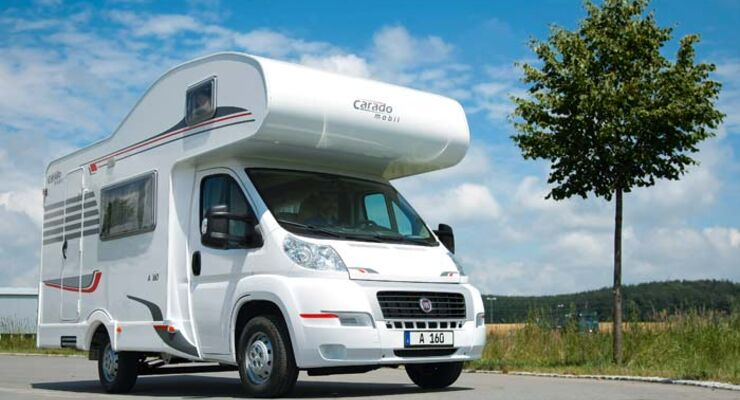 Caravan-Salon: Alkovenmobile