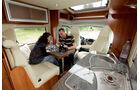 Caravan-Salon: Bürstner Ixeo Plus/Dethleffs Globe4