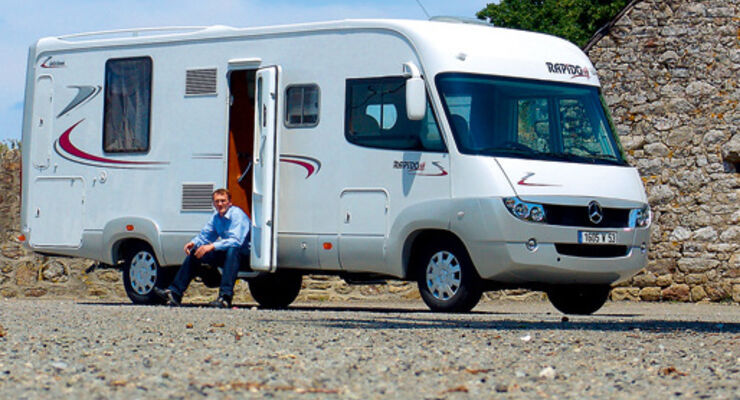Caravan-Salon: Rapido Serie 9M