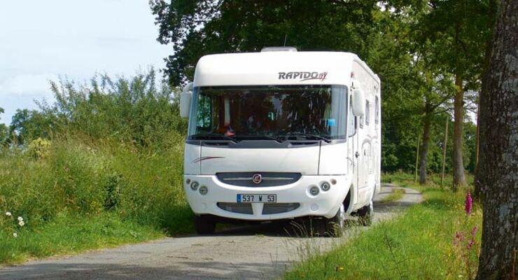 Caravan-Salon: Trends 2010 - Integrierte
