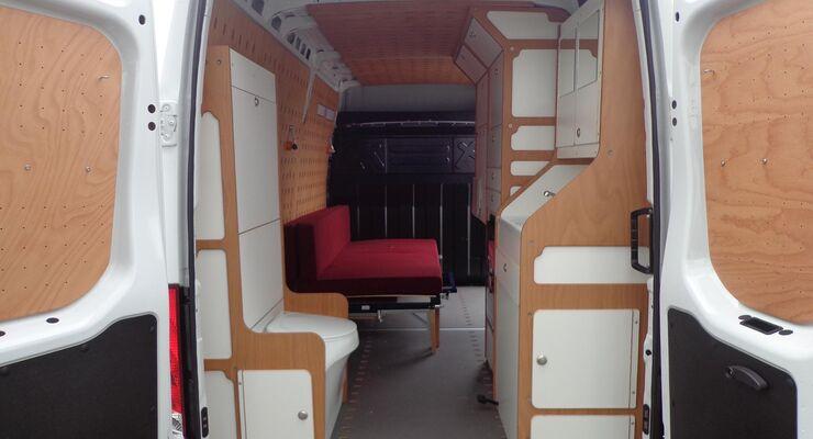 Cargo Camper Mountain 4x4
