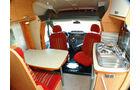 Chausson Flash Baureihe Modell 2010 Sitzgruppe