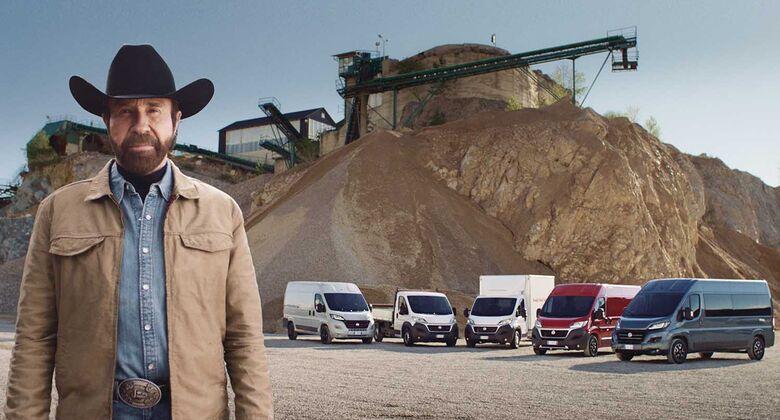Chuck Norris Fiat Ducato Werbevideo