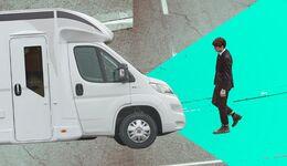 Connectivity autonomes Reisemobil