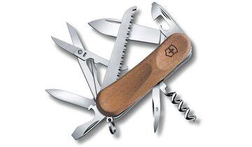 Das Evowood 17 von Victorinox ist mit 13 nützlichen Werkzeugen ausgestattet.