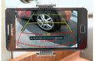 Das schaerfste Bild bietet das Display des Smartphones bei der RFK WiFi von DNT.