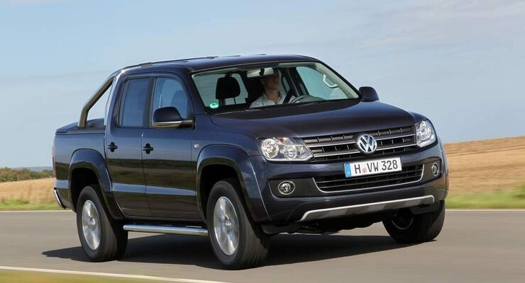 Den Pickup VW Amarok gibt es ab Januar 2012 erstmals auch mit einem 8-Gang-Automatikgetriebe, das den Verbrauch senken soll