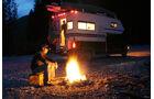 Der Campground ist ganzjaehrig fuer Motorhomes geoeffnet.