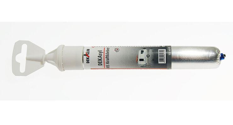 Der Dekasyl MS-Kraftkleber besitzt eine hohe Haftwirkung und Anfangsfestigkeit zur Herstellung von elastischen Verbindungen.