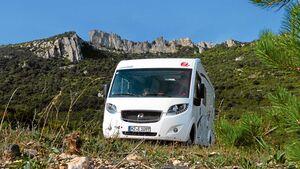 Der Euro Mobil Integra Line 690 HB im Süden Frankreichs
