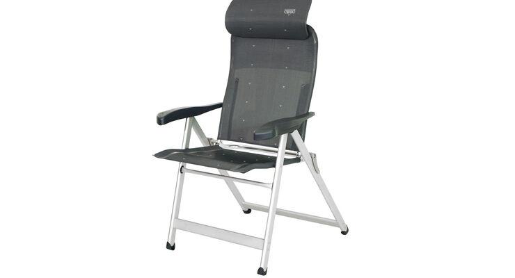 Der Möbelhersteller Crespo hat die neue Stuhlserie Crespo Compact kreiert. Sie verfügen über eine ergonomische Kopfstütze.