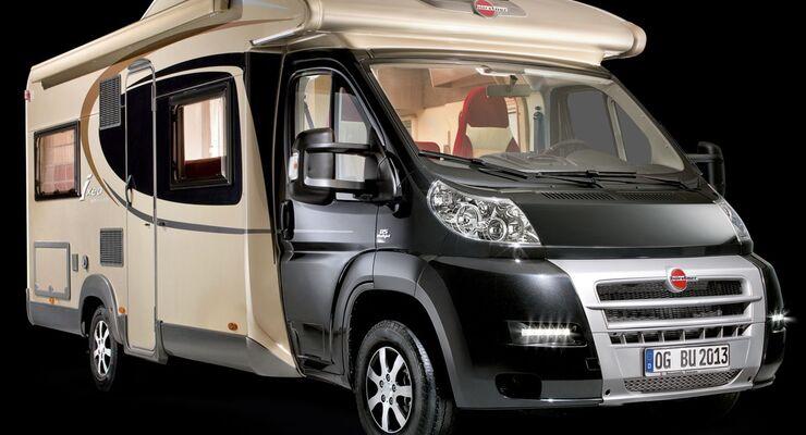 Der Reisemobil und Caravan Hersteller Bürstner bietet die Modelle Nexxo t 660 und Ixeo time it 695 in der Ausführung Moonlight Edition an.