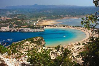 Schönste Strände Peloponnes Karte.Wohnmobil Tour Nach Griechenland Halbinsel Peloponnes Promobil