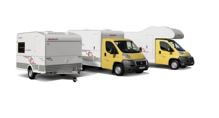 Dethleffs Globico modulares Wohnmobil Reisemobile Caravan Salon 2009
