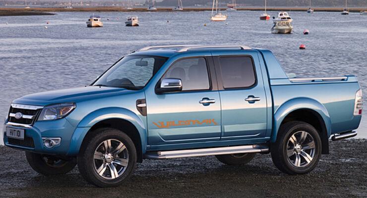 Deutschland-Premiere Ford Ranger Caravan Salon Reisemobil