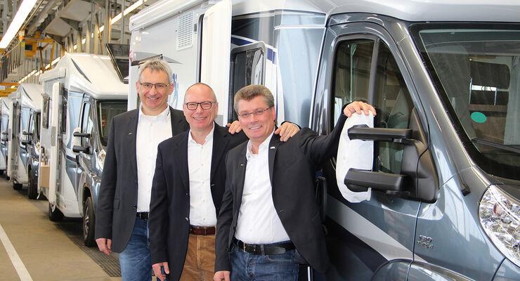 Die Geschäftsführung der Knaus Tabbert GmbH