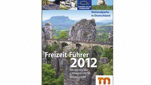 """Die Messe Düsseldorf veröffentlicht auch 2012 einen """"Freizeitführer"""". Die Ausgabe trägt den Titel """"Nationalparks in Deutschland""""."""