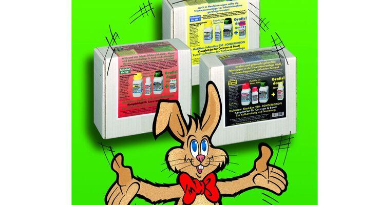 """Die Multibox 250 gibt es als """"Osterbox"""" in drei Ausführungen gegen leichte, mittlere und starke bakterielle Verunreinigungen."""