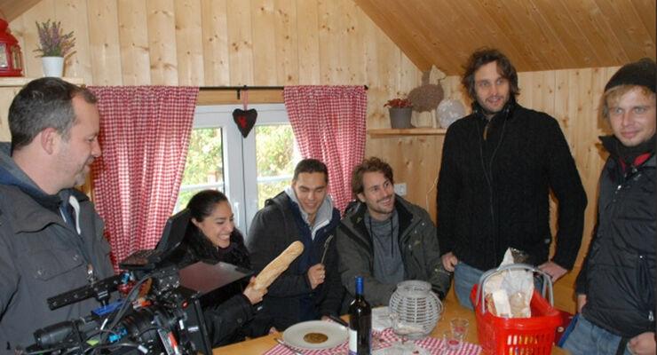 """Ein Hauch von Hollywood auf dem Eifel-Camp am Freilinger See: die Film-Crew von """"Alles was zählt"""" war zu Gast."""