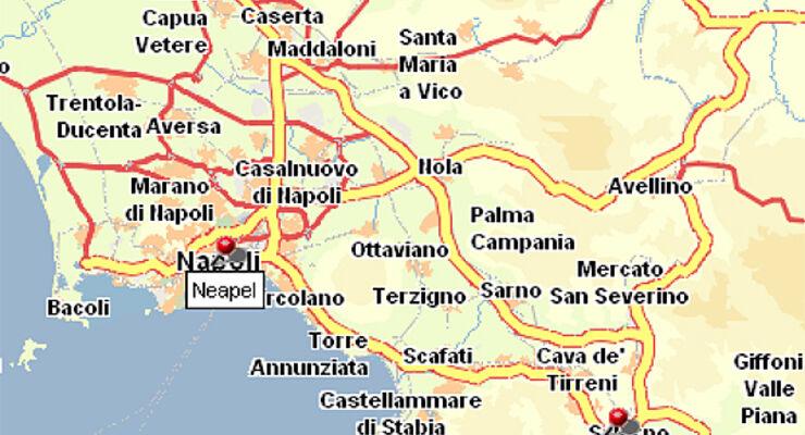 Fahrverbote, amalfi, amalfitanische Küste, wohnmobil, reisemobil, caravan, wohnwagen, ss 163, neapel