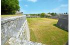 Festungsmauern in Saint-Martin