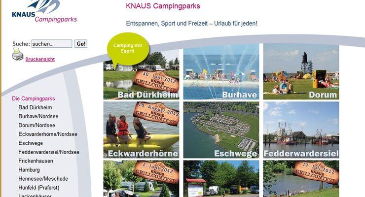 Helmut Knaus KG Campingparks übernimmt Anfang 2013 erstmals eine Anlage an der Mosel und hat dann 19 Anlagen im Programm.