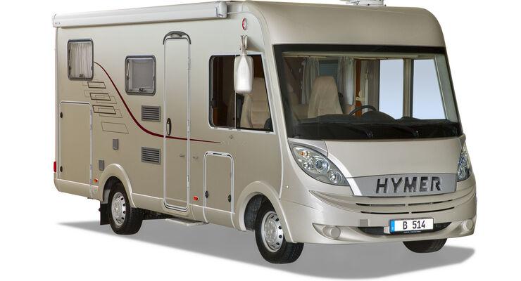 Hymer B Klasse Modell 2010 Seitenansicht