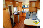 Hymer Tramp CL Modell 2010 Sitzgruppe