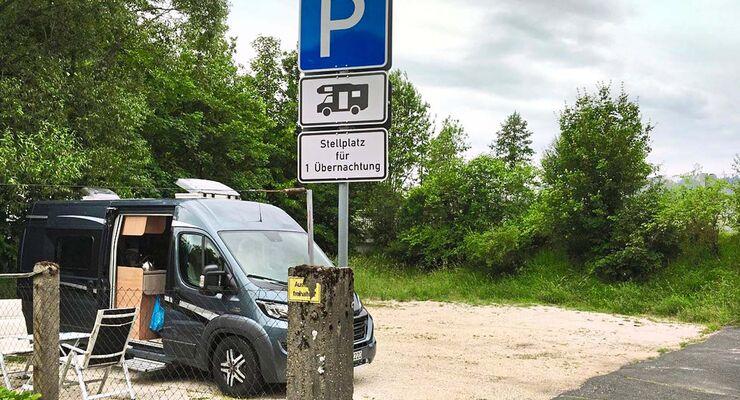Im Herzen von Oberfranken, direkt zwischen Bamberg und Bayreuth liegt die Stadt Waischenfeld mit einem kleinen Stellplatz.