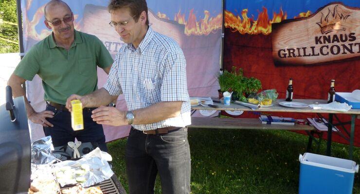 Im Knaus Campingpark Viechtach wurde am 19. Mai beim Grillwettbewerb der erste von zehn Grillmeistern ermittelt.