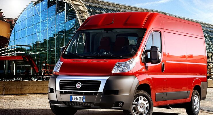 Im Rahmen einer Modellpflege erhält der Fiat Ducato neue Motoren und einen aufgewerteten Innenraum