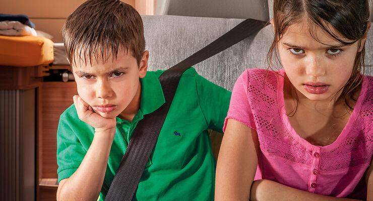 Im Sommer schwitzen die hinteren Passagiere oft.