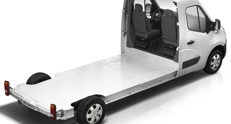 Im Zeichen des Master steht der Auftritt von Renault, des europäischen Marktführers für leichte Nutzfahrzeuge bis 3,5 Tonnen.
