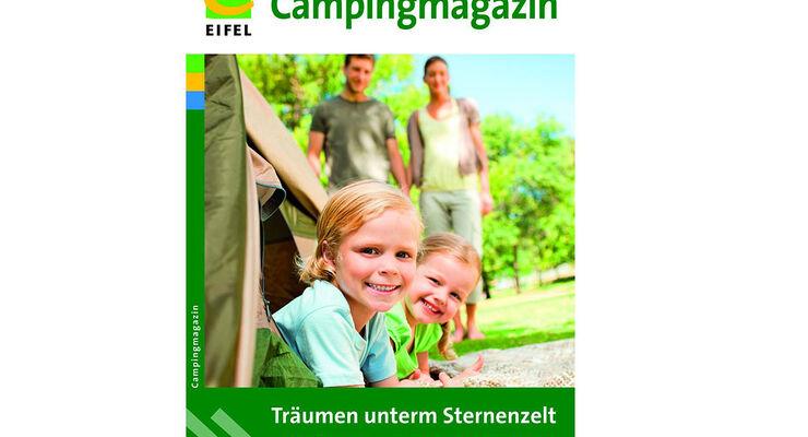 Im neuen Campingmagazin der Eifel Tourismus (ET) GmbH präsentieren sich aktuell insgesamt 30 Campingplätze in der Eifel.