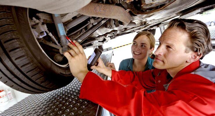 Immer mehr Autos sind auf deutschen Straßen mit gravierenden Mängeln unterwegs