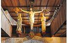 Jesus Statue in der Schlosskapelle