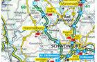 Karte Region Hammelburg