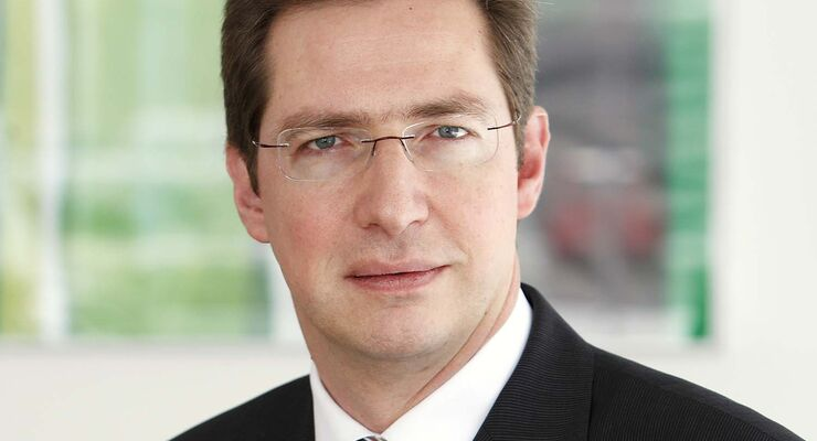 Klaus J. Rudolph, Finanzvorstand bei Hymer