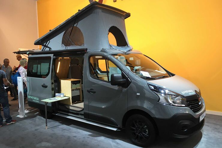 kompanja bringt alltags und campingbus auf renault trafic. Black Bedroom Furniture Sets. Home Design Ideas